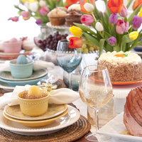 A legszebb húsvéti terítékek – Egyszerű, de nagyon szépek