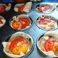 Muffinsütőben még a tükörtojás is izgalmas étellé válik