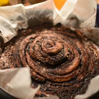 Illatos óriás kakaóscsiga-torta, az ötévesek megvalósult álma