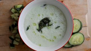 Jéghideg, joghurtos uborkaleves forró napokra