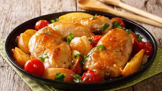 Őszibarackkal és mézzel sült csirkemell - Ezekkel a fűszerekkel lesz a legfinomabb