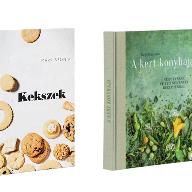 Karácsonyi ajándéknak is tökéletesek: zseniális szakácskönyvek