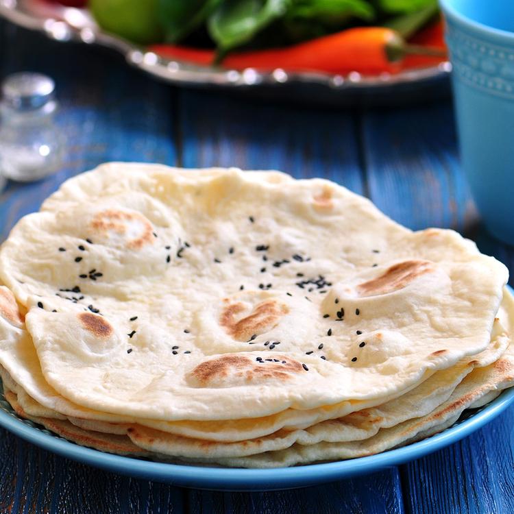 Illatos indiai lepénykenyér: nagyon finom a chapati