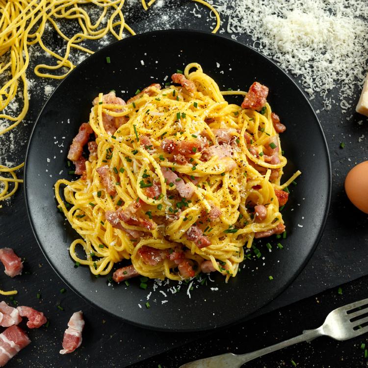 A eredeti spaghetti alla carbonara: Olaszországban tanultam a receptet