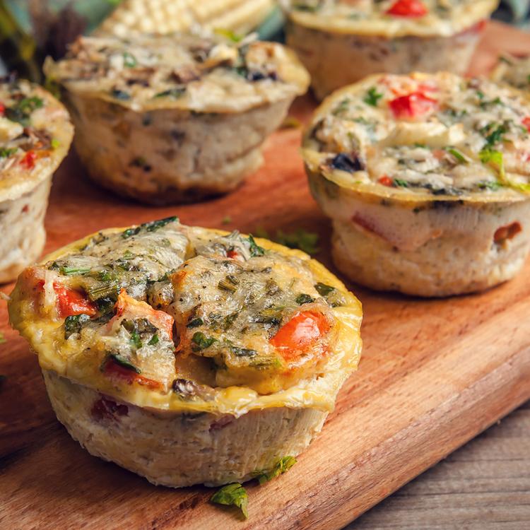 Rántotta és tükörtojás helyett: fehérjedús muffinok, amit kedved szerint variálhatsz