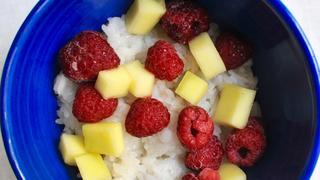 Tejberizs ázsiai módra: illatos, kókuszos, ragacsos rizs