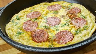 Létezik olyan pizza, ami nem hizlal? Igen, ha tojásból készítjük