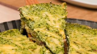 Zöldséges clafoutis - nemcsak édes tejpite létezik