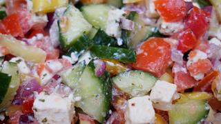 Görög saláta, ahogy mi készítjük - Nem az eredeti, de az egyik legfinomabb
