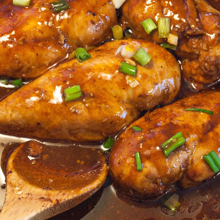 Édes-savanyú csirkemell olasz módra, szaftos, finom, pikáns!