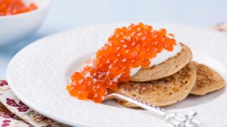 Puha, kelt tésztás blini: az orosz palacsinta kaviárral a legjobb