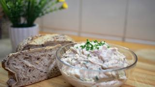 Szaftos, vajas tonhalkrém - Főtt tojással és snidlinggel lesz tökéletes