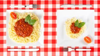 A kisebb tányértól még nem biztos, hogy lefogysz! Két dologtól függ, mennyit eszünk!