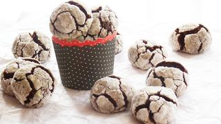 Pufi csokoládés sütemény karácsonyi ajándékba - Tedd üvegbe vagy papírkosárba