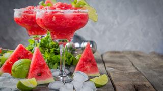 Görögdinnyés Margarita lime-mal és sóval: a nyárízű koktél
