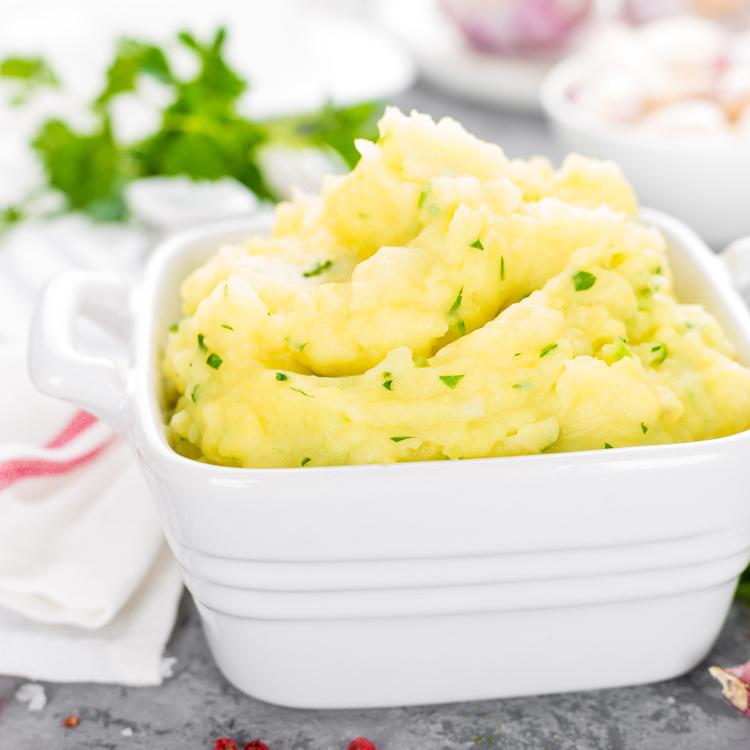 Pikáns krumplipüré friss petrezselyemmel: önálló fogásként is megállja a helyét