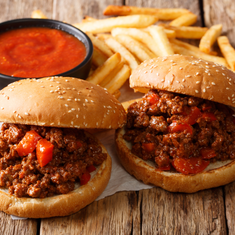 Hamburger? Dehogy! Sloppy Joe