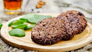 Félórás fűszeres bab-burger - A legfinomabb vega hamburgerpogácsa