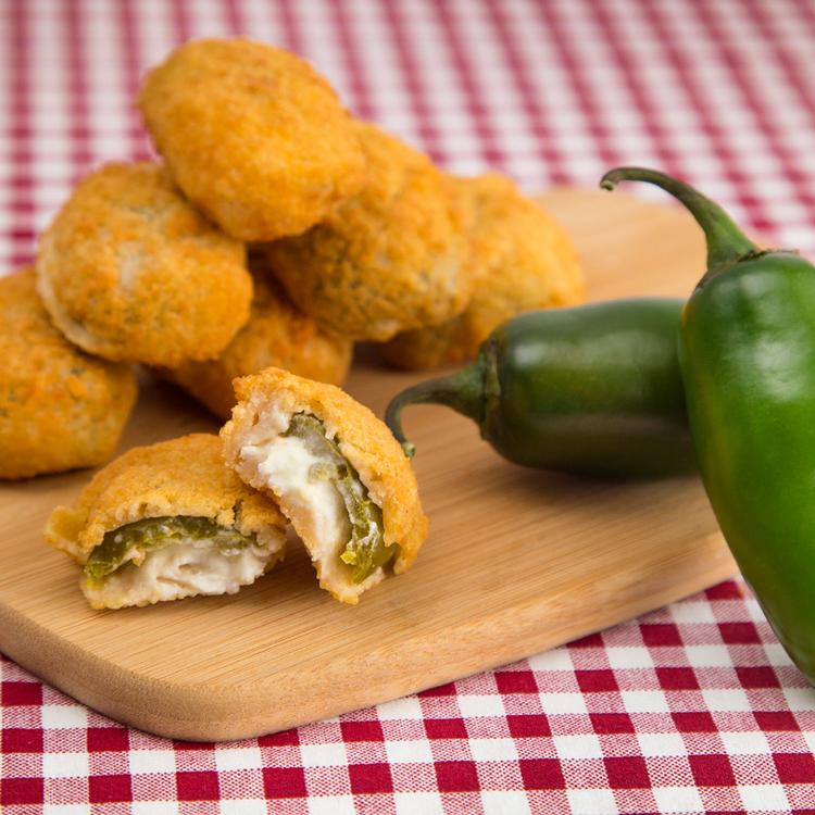 Roppanós rántott jalapeno sajtkrémmel töltve – Tökéletes vendégváró
