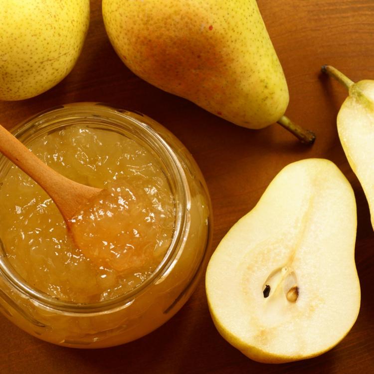Karamellás-vaníliás alma-körte lekvár