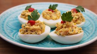 100 éves töltött tojás recept – Nem véletlen nem változott semmit