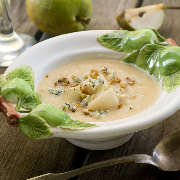 Ezerarcú körtekrémleves: szerinted kávéval, kék sajttal, mazsolával vagy sült szalonnával a legjobb?