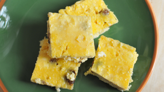Gluténmentes vaníliás túrókocka - Cukor sincs benne