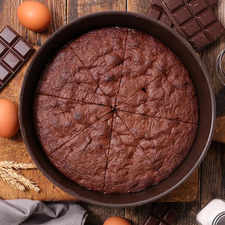Lisztmentes francia csokoládétorta – Remegős a közepe, roppanós a teteje