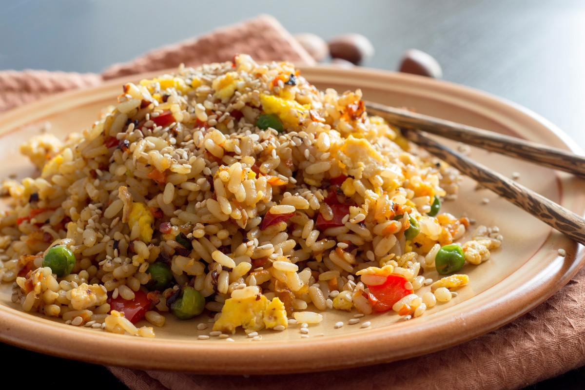 Zöldséges sült rizs - Tudnak valamit a kínaiak