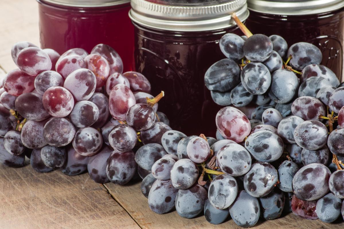 Édeskés, pikáns szőlőkekvár: tegyük el az ősz zamatát télire is