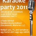 Karaoke party 2011!