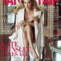 Kate Winslet a decemberi Vanity Fair-ben