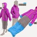 2in1: Kabát és hálózsák egyben