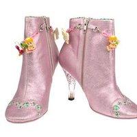 Mesés rózsaszín Barbie-csizma az Irregular Choice-tól