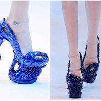 Alexander McQueen 2010 S/S cipők