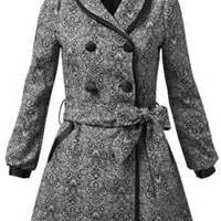 Kabát-sarok: JJ Park brokát kabát