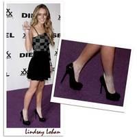 Lindsay Lohan érdekes alternatívát talált a bokazoknira