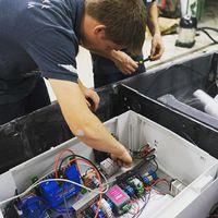 #Rosana szívét adó elektronikai doboz beszerelése is megtörtént a hétvégén!