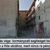 """Kipukkant a """"gazdag Kőbánya"""" lufi a Hős utca kapcsán"""