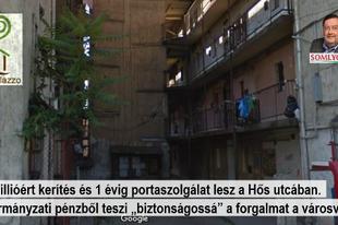"""131 millió forint """"védelmi pénzt"""" fizetnek a Hős utcában"""
