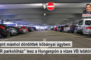 Parkolóház a mennyből?