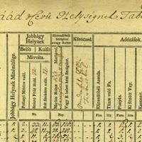 Jobbágyok összeírása 1767-ből (Jád)