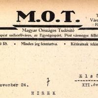 VIHARKÁROK (Magyar Országos Tudósító 1940. augusztus 13.)
