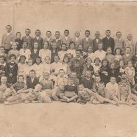 Osztálykép (1930/1931 I.-IV. osztály)