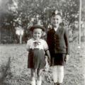 Bor Pál jegyző gyermekei: Bor László és Bor Zsuzsanna