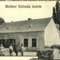 Bekker Kálmán (1870-?) vegyeskereskedő