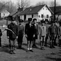 Az 1952-ben megyei versenyt nyert somogyjádi fiú tűzoltócsapat.