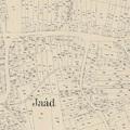 Jaád kisközség (Somogyjád) - településszerkezete (1894)