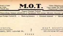 MEGSZŰNT A FORGALOMKORLÁTOZÓ A KAPOSVÁR -FONYÓDI VONALON (Magyar Országos Tudósító 1940. augusztus 21.)