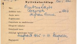 Ambrus Lajos (1906.-1945.)